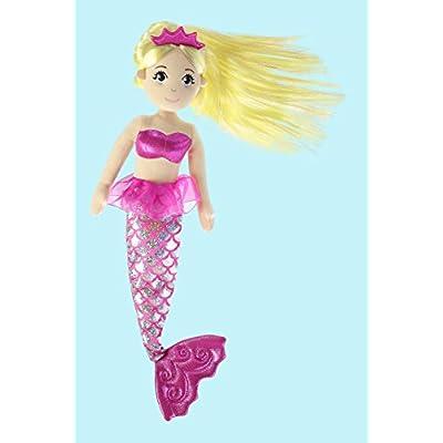 Aurora World Sea Sparkles Jewel Mermaid Plush: Toys & Games
