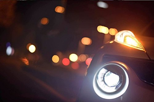 GOWE Car Styling for Nissan JUKE headlights 2013 2014 2015-2018 led ESQ headlight Head Lamp led drl projector headlight h7 hid Color Temperature:4300k;Wattage:55w 3