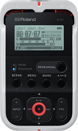 Roland R 07 - Gravador de Audio Portatil (branco)