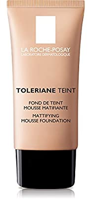 La Roche-Posay Toleriane Teint Mattifying Mousse Matte Foundation for Oily Skin and Sensitive Skin