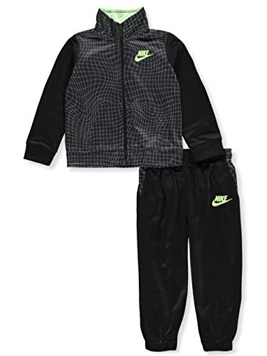 (Nike Baby Boys' 2-Piece Tracksuit Pants Set - Black, 24 Months )