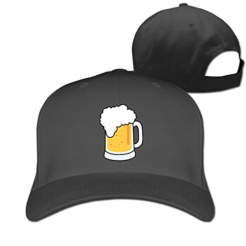 xssyz-unisex-i-love-beer-adjustable-baseball-caps-black