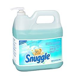 Diversey Snuggle Liquid Fabric Softener (Floral, 2-Gallon, Case of 2)