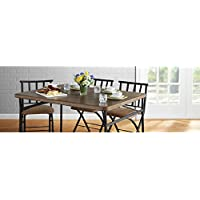 Mainstays 34 x 48 Faux Wood Table