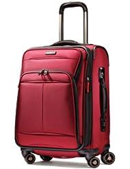 新秀丽Samsonite 21寸万向轮拉杆登机箱行李箱红 Dkx 2.0 $114.05