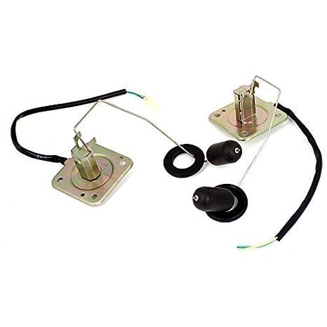 2 xBlack latón tono de combustible Gasolina flotador del sensor Palanca: Amazon.es: Coche y moto