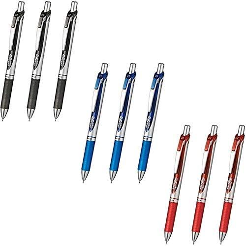 Pentel Energel Deluxe Retractable Pens Value