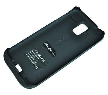 mondpalast@ Negra USB Externos 5200 mah Batería Funda ...
