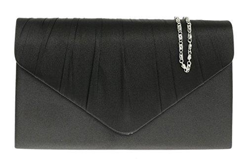 Negro Handbags de mano para mujer negro Cartera Girly 7qUYpAU