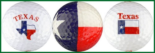 - EnjoyLife Inc Texas Flag Variety Golf Ball Gift Set