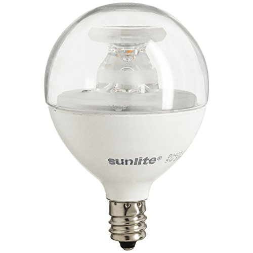 Sunlite-LED-Globe-40W-Equivalent-Only-Uses-5-Watts-Dimmable-Frost-G165-Bulb