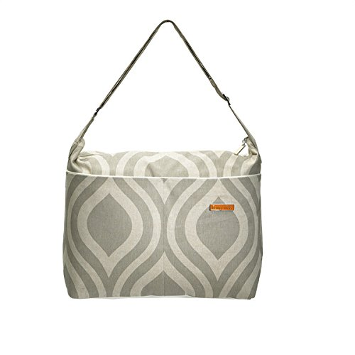 foxy-vida-grey-sand-drop-diaper-bag