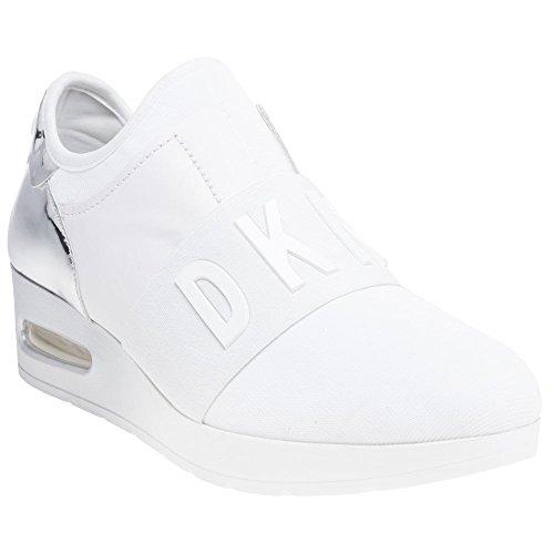 Femme Arnold Baskets Mode Wedge on DKNY Blanc Slip wgqIIO