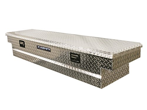 Lund/Tradesman 9300T 63-Inch Aluminum Mid-Size Cross Bed Truck Tool Box with Full Lid, Diamond Plated, Silver (Mid Size Truck Box compare prices)