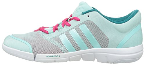 adidas Performance zapatos de fitness para mujer türkis/grau Talla:7 - türkis/grau