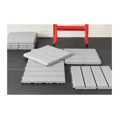 Ikea Floor decking, outdoor, gray 1626.11265.610