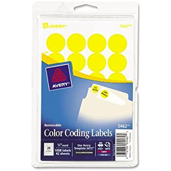 Amazon Avery Removable Print Or Write Labels For Laser And