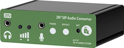 Amazon.com: 2N SIP Audio Converter - Standalone: Office Products on audio cable, audio editing software, audio coding 3, audio files, audio playlist, audio maker,