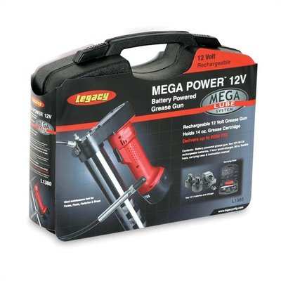 Legacy Mega Power 12V Battery Powered Grease Gun - Lot of 2