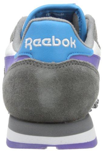 Reebok Kvinna Klassiska Läder Säsongs Tränare Us10 Grå