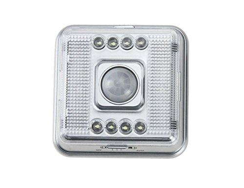 ALED LIGHT®LED Sensor light,8 LED Bright Square LED lamp PI