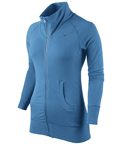 Nike Damen Shirt- Jacke // 484719 // Womens Femme // blau (XL)