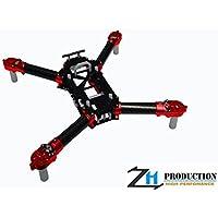 ZealHeli CNC Frame Kit - Traxxas Aton ( Red )