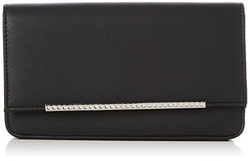 Sleek cm 5x9x15 W Bar New 3 Diamonte H x Look L Black femme Pochettes zW6Tf5qxTw
