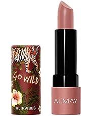 Almay Lip Vibes, Go Wild, 0.14 oz., matte lipstick