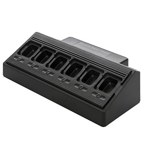 Maxtop AM6R4232-120-V3 Six Unit Bank Rapid Charger for Motorola DR3000 DP3400 DP3401 DP3600 DP3601 DGP4150 DGP4150+ by MAXTOP (Image #7)