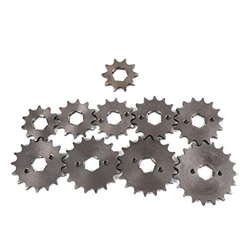 Kavas - Off-road Vehicle Motorcycle Front Sprocket Gear Hole Inner Dia 20mm 10T To 19T