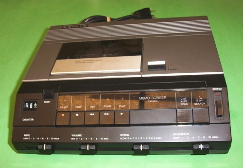Sanyo TRC 9010 Standard Cassette Transcription Transcribing Transcriber Machine by Sanyo