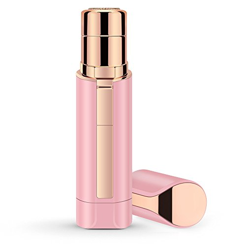 LANDOT Painless Facial Hair Removal Lipstick Shaver For Women Hair Removal Devices For Face and Body Chin Cheek(Pink) by LANDOT