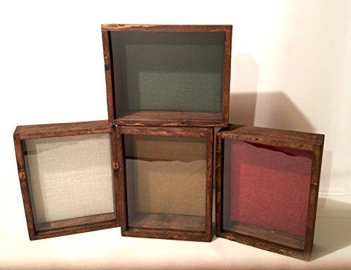 "Rustic Shadow Box - 11"" W x 14"" H x 3"" D"