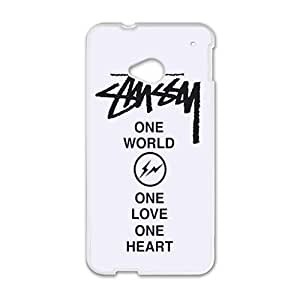 Happy St¡§1ssy Stussy Logo Cell Phone Case for HTC One M7