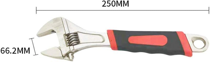 RainBabee Einstellbarer Verstellbarer Schraubenschl/üssel Installationswerkzeug Klempnerschl/üssel 8 Zoll 10 Zoll 12 Zoll