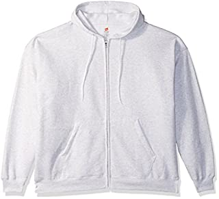 Hanes Men's Full-Zip EcoSmart Fleece Hoodie, ash, Large (B072M77MZD) | Amazon price tracker / tracking, Amazon price history charts, Amazon price watches, Amazon price drop alerts