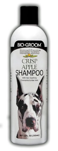 Bio-Groom Natural Scents Crisp Apple Scented Shampoo, 12-Ounce, My Pet Supplies