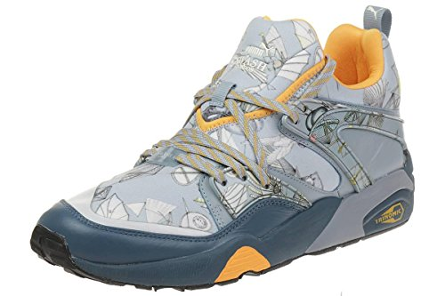 Puma Blaze of Glory X Swash OS London Sneaker Schuhe 358860 01 Indian Teal-Orange
