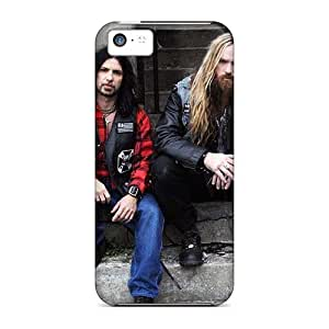 TammyCullen Iphone 5c Durable Hard Phone Cases Support Personal Customs Vivid Megadeth Band Image [NPx9088HElj]