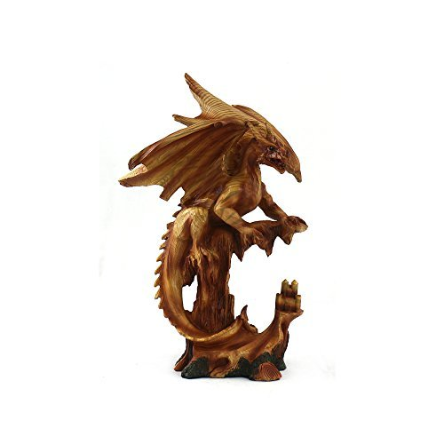 Aquatic Fantasy Collection Woodlike Dragon - Mystical Dragon
