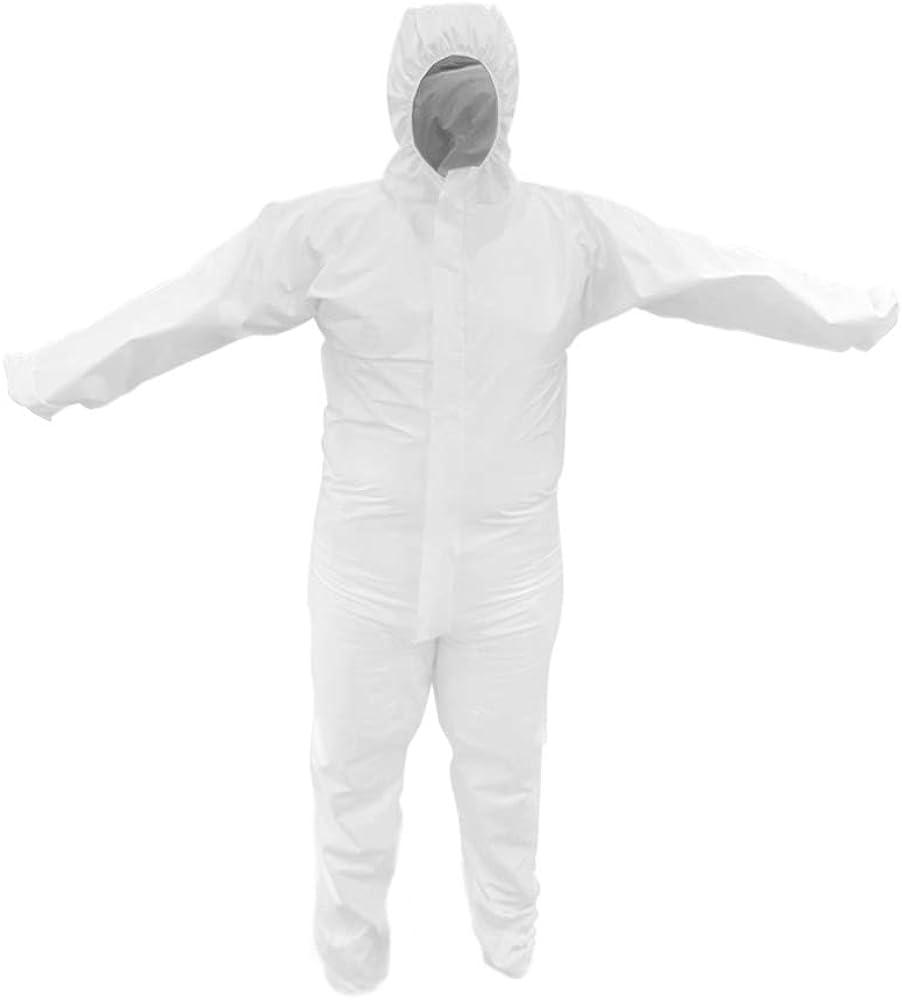 Traje de protecci/ón con capucha Categor/ía 3 tipo 5 y 6 Protecci/ón contra infecciones EN 14126 Mono