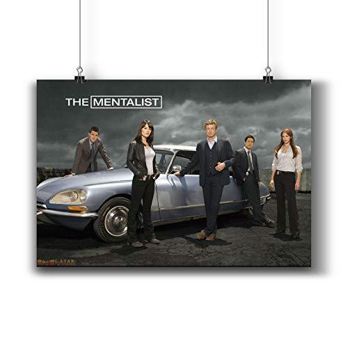 - The Mentalist TV Series Poster Small Prints 313-001 Popular TV Show,Wall Art Decor for Dorm Bedroom Living Room (A4|8x12inch|21x29cm)