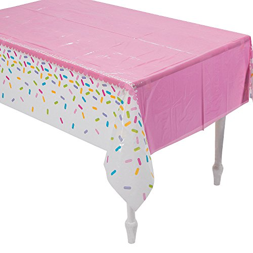 Fun Express Cupcake Party Printed Tablecover]()