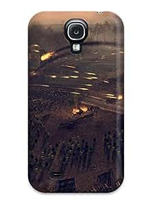 Hot Total War: Attila First Grade Tpu Phone Case For Galaxy S4 Case Cover 5015276K77415806