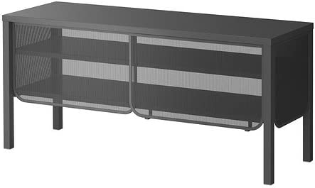 IKEA NITTORP - Mueble TV, gris oscuro - 122x55 cm: Amazon.es: Hogar