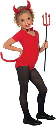 Child Devil Costume Boy (Plush Devil Child Costume Kit)