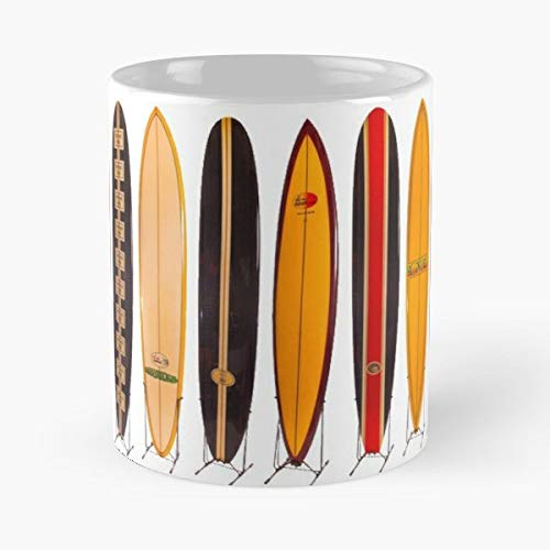 (Vintage Surfing Surf Surfer - 11 Oz White -coffee Mug- Unique Birthday Gift-the Best Gift For)