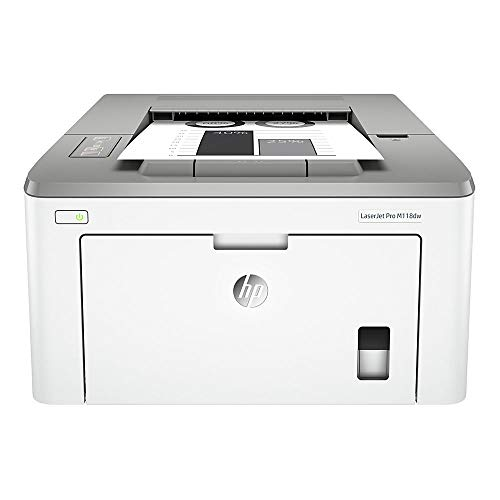 HP Laserjet Pro M118dw Wireless Monochrome Laser Printer with Auto Two-Sided Printing, Mobile Printing & Built-in Ethernet (4PA39A) (Hewlett Packard 1102w Laserjet Wireless Monochrome Printer)