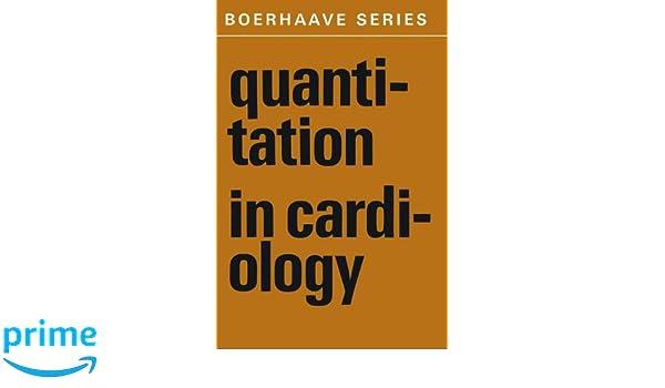 quantitation in cardiology hemker h c snellen h a hugenholtz p g van bemmel j h